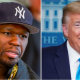 """50 Cent Endorses Donald Trump Even Though """"Trump Doesn't Like Black People"""""""