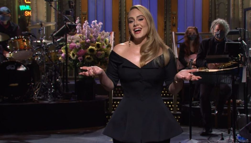 Adele Gives Update on Her New Album During 'SNL' Monologue: Watch