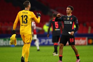 Adrian raves about Liverpool teammate Fabinho