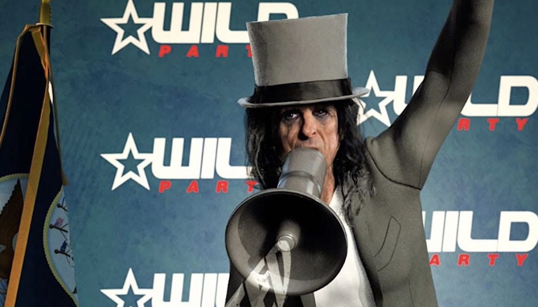 """Alice Cooper Enters 2020 Presidential Race with New """"Elected"""" Video: Watch"""