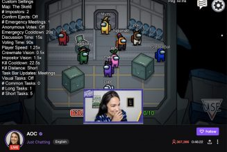 AOC's debut Twitch stream is one of the biggest ever