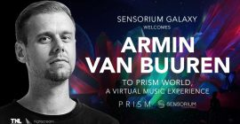 Armin van Buuren Announces Series of VR Performances via Sensorium Galaxy