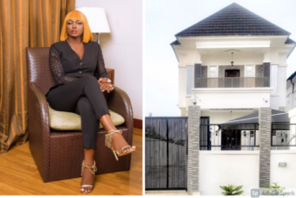 BBNaija star Ka3na buys a new house in Lagos