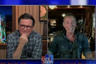 Bruce Springsteen Talks E Street Band, New Album, and Favorite Bob Dylan Songs on Colbert: Watch