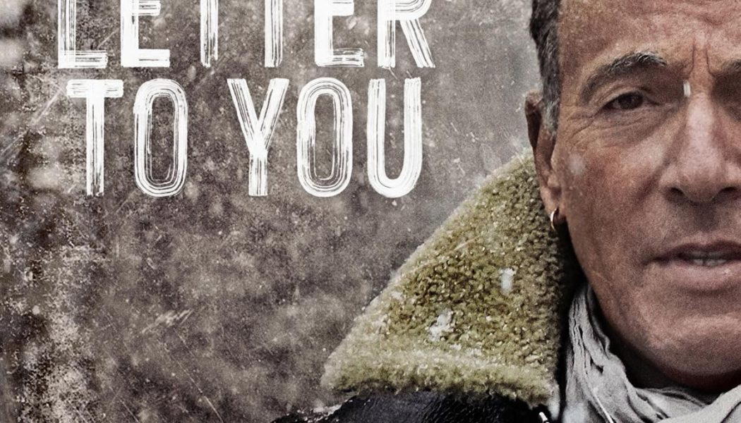 Bruce Springsteen's Letter to You Boldly Looks to the Future: Review