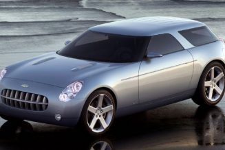 Chevrolet Should Have Made the Nomad Concept a Reality