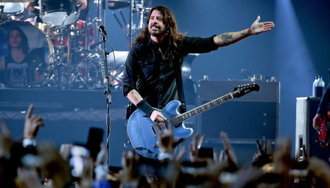 Dave Grohl, His Mom & Jill Biden All Agree That Teachers Are 'Rockstars'