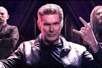 """David Hasselhoff Teams Up with CueStack for Metal Song """"Through the Night"""""""