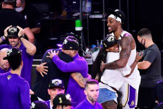 Dwight Howard Gets Emotional In Lakers Championship Post-Game Video