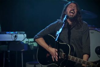 Foo Fighters Play Stripped-Down Version of 'Times Like These' for Biden Benefit
