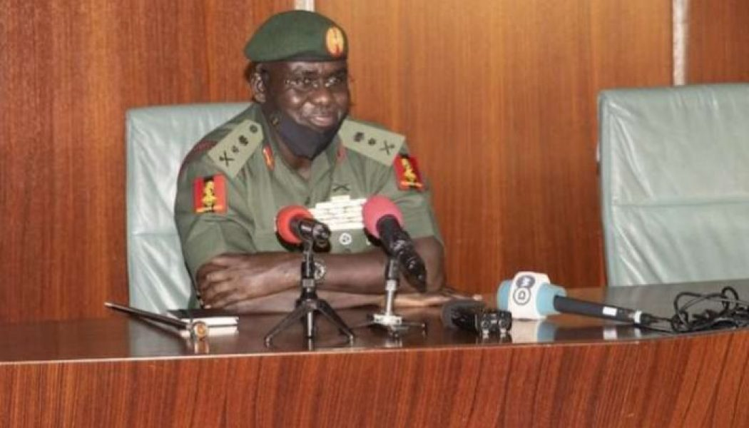 General Buratai: Army will not allow subversive elements to destabilise Nigeria