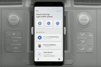 Google Assistant Driving Mode appears to be coming to Android at last
