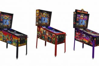 """Guns N' Roses Unveil """"Not in This Lifetime"""" Pinball Machines"""