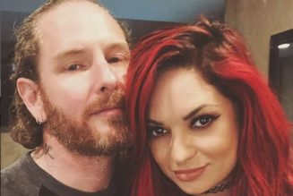 How COREY TAYLOR And His Wife Celebrated Their First Anniversary As Married Couple