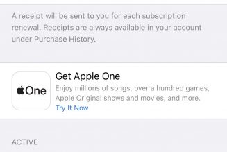 How to sign up for Apple One