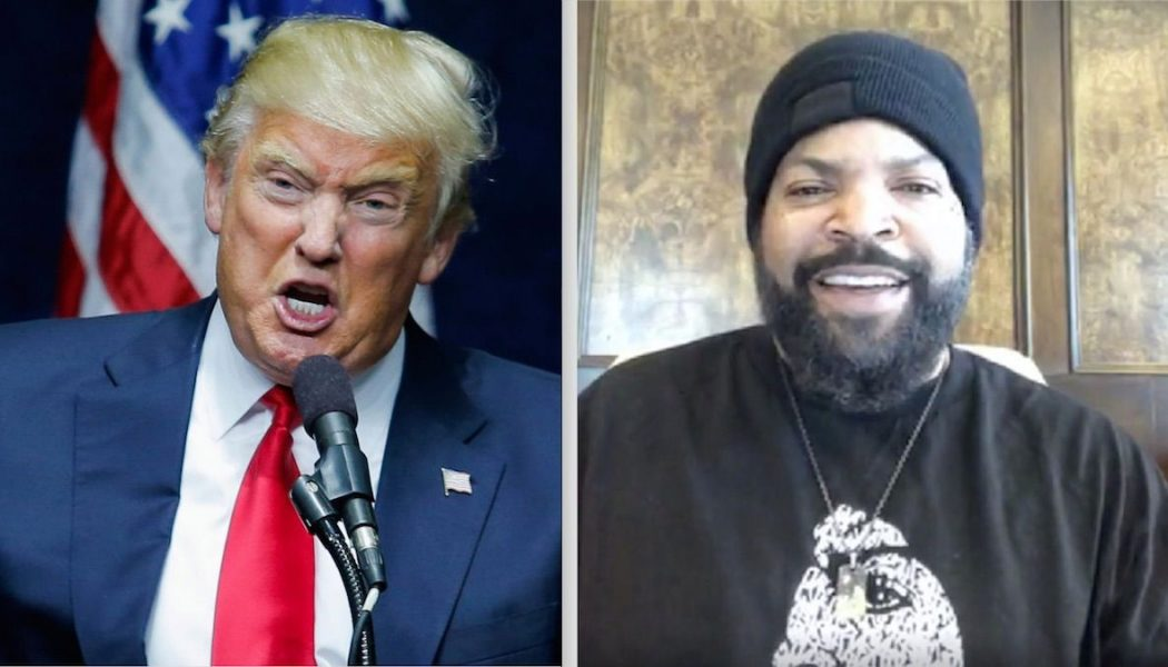 """Ice Cube Working with Trump Admin to """"Platinum Plan"""" for Black Americans"""