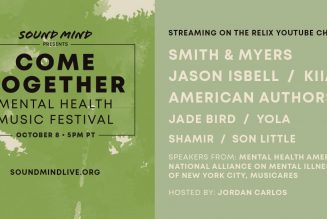 Jason Isbell, Yola, Shamir Playing Come Together: Mental Health Music Festival