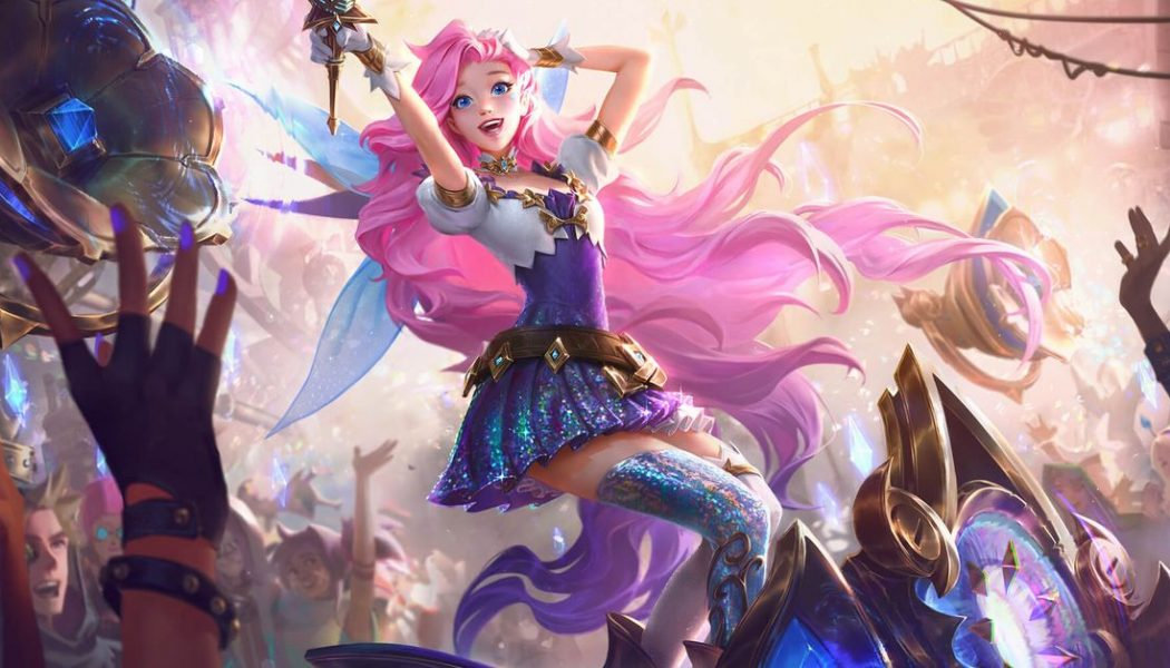 League of Legends' latest champion is a colorful pop star
