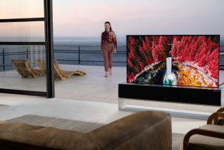 LG Launches its Rollable OLED TV