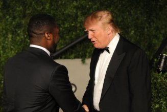 Look At My African American: Donald Trump Shares 'New York Post' Cover Featuring 50 Cent On Instagram