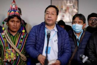 Luis Arce secures big victory in Bolivia election