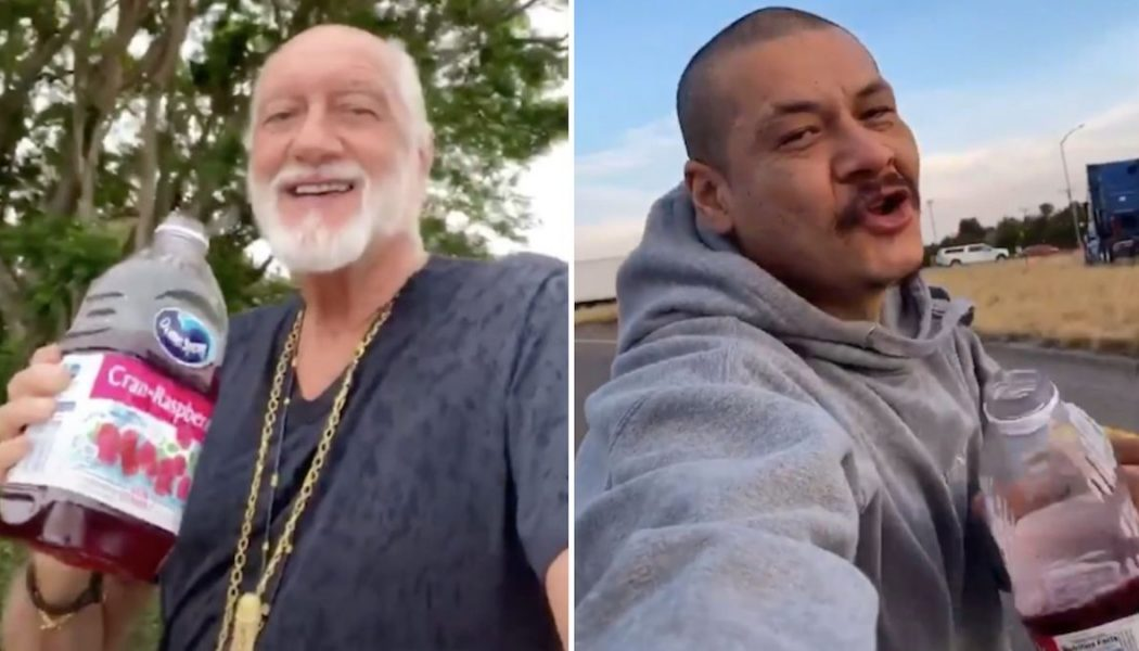 "Mick Fleetwood Joins TikTok Just to Recreate Viral ""Dreams"" Video: Watch"