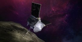 NASA's OSIRIS-REx spacecraft successfully taps an asteroid in attempt to grab a sample