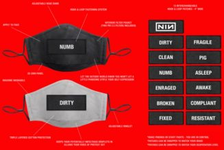 Nine Inch Nails Are Selling Face Masks with Removable Words