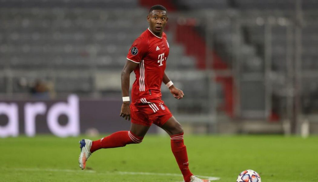 Report: Bayern Munich defender David Alaba is on the target list of Liverpool