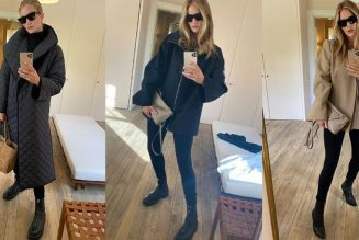Rosie HW Just Shared Her Winter Coat Collection—and We're Obsessed