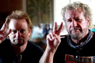 Sammy Hagar and Michael Anthony Honor Eddie Van Halen with Video and Onstage Tributes: Watch