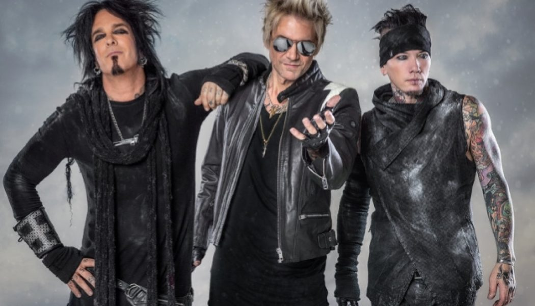 SIXX:A.M. Releases Lyric Video For 'Belly Of The Beast' From 'Sno Babies' Soundtrack