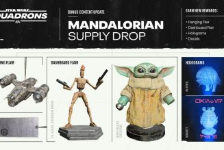 Star Wars: Squadrons is getting a Baby Yoda bobblehead