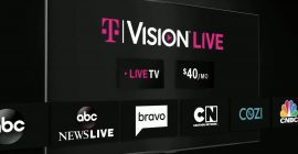 T-Mobile expands into live internet TV with new TVision streaming service