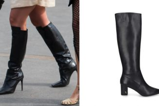 The Best Black Boots For Greeting Autumn in Great Style