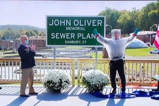 The John Oliver Memorial Sewer Plant Opens with Shitty Speech from John Oliver: Watch
