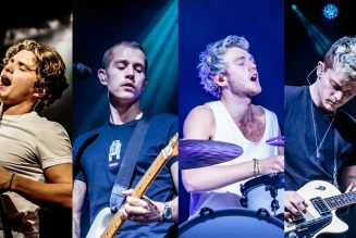 The Vamps Channeled Elton John And Boxing Sweat For Cherry Blossom