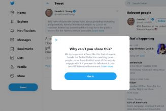 """Twitter flags, limits sharing on Trump tweet about being """"immune"""" to coronavirus"""
