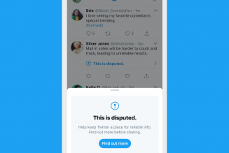 Twitter is fighting election chaos by urging users to quote tweet instead of retweet