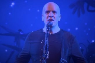 Watch DEVIN TOWNSEND Perform 'War' from 'Order Of Magnitude – Empath Live Volume 1'