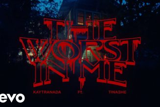 """Watch KAYTRANADA and Tinashe's Haunting """"The Worst In Me"""" Music Video"""
