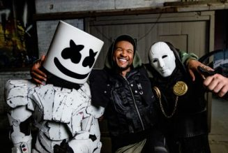 """Watch the Cyberpunk Music Video for Marshmello, Usher and Imanbek's """"Too Much"""""""