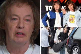 AC/DC's Angus Young Gets Teary-Eyed While Recounting Late Brother Malcolm's Dementia Battle