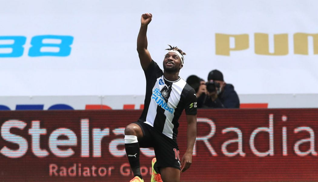 Allan Saint-Maximin sends 3-word message to Newcastle teammate after last night