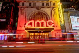 AMC's revenue plummets by more than 90 percent as theaters remain empty