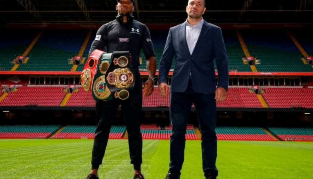 Anthony Joshua vs Kubrat Pulev bout confirmed for December 12