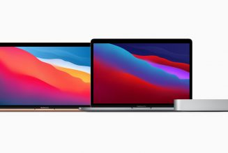 Apple Announces New MacBook Air, 13-Inch MacBook Pro & Mac Mini Powered By New M1 Chip