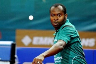 Aruna Quadri records third league victory with TTC in German Bundesliga