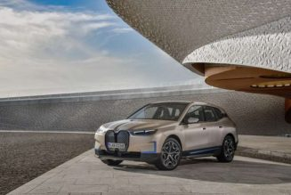 BMW launches new flagship iX electric SUV with 300 miles of range