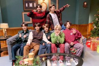"""BTS Bring """"Life Goes On"""", Holiday Cheer to Corden: Watch"""